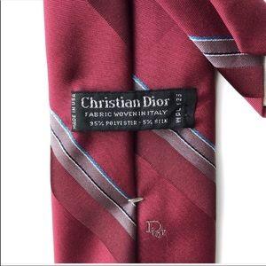 Dior Accessories - Men's Christian Dior Silk Blend Necktie